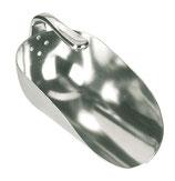 Futterschlaufel Aluminium mit Innenstiel