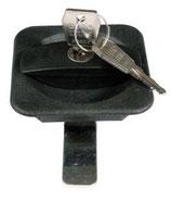 Sattelschrankschloss aus Kunststoff (PFIFF)