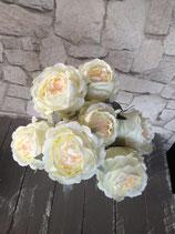 Rosenstrauß weiß/creme
