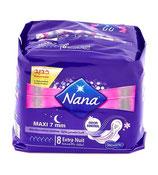 Nana serviettes hygiéniques extra nuit
