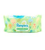 Pampers lingettes bébé  natural clean