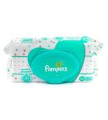 Pampers lingettes bebe 56pc sensitive avec couvercle
