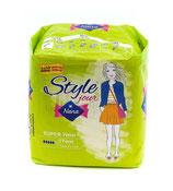 PAQUET de 8 serviettes hygiéniques Nana style jour