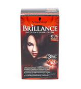 Brillance coloration permanente  rouge-noir organdi