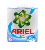 CARTON DE 12 BOITES Ariel poudre lessive 400g/4sc