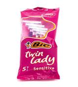 Bic lames Twin Lady 5pcs sensitive
