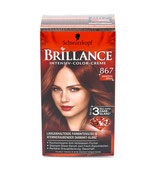 Brillance coloration permanente brun acajou