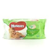 Huggies lingettes bebe  natural care
