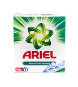 Ariel poudre lessive 400g/4sc