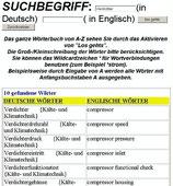 Wörterbuch Kältetechnik- Mechatroniker + Klimatechnik