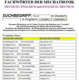 Lexikon Mechatronik + Wörterbuch Elektronik / Maschinenbau / Informationstechnik
