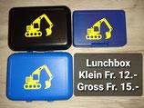 Lunchbox mit Bagger