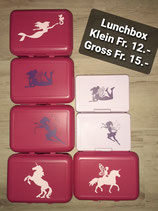 Lunchbox Pink Gross und Lila klein