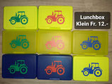 Lunchbox klein mit Traktor