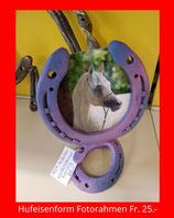 Hufeisen Fotorahmen Violettes