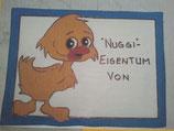 Nuggischild Ente