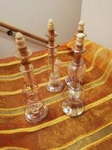 Glasflakons aus Tunis 4er Set