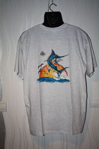 t-shirt blanc taille L MARLIN