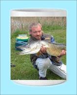 MUG a personnaliser pour le pêcheur