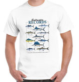 tshirt de poisson record mer