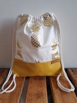 Turnbeutel Ananas Senf Art. 11.4.5