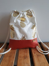 Turnbeutel Ananas rost Art. 11.4.8