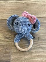 Elefant Rassel Rosa