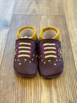 Violett/Gelb Pusteblume