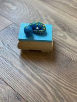 Zahndösli Sleeping Dino Blau