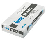 Knauf N 440 - Gipsgebundene Bodenspachtelmasse von 10 bis 40 mm, 25 kg