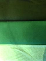 Jersey Uni Olivegrün / Grün / Hellgrün meliert