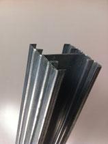 JB metallic palen - maximaal L= 290cm