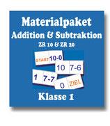 Erstrechnen - Addition und Subtraktion in ZR10 und ZR20 - Materialpaket