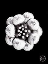 Bague en argent fleur 23
