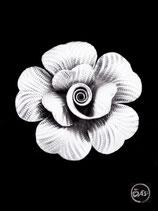 Bague en argent fleur 26