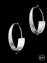 Boucles d'oreilles en argent créateur 15
