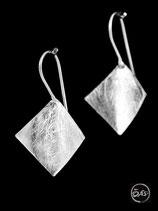 Boucles d'oreilles en argent créateur 33