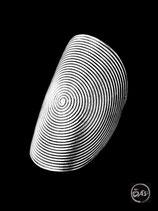 Bague en argent spirale 15