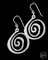Boucles d'oreilles en argent créateur 16