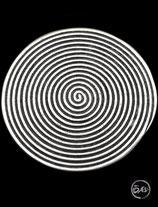 Bague en argent spirale 23