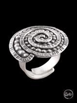 Bague en argent spirale 01