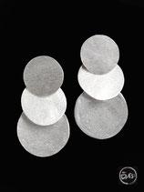 Boucles d'oreilles en argent créateur 35