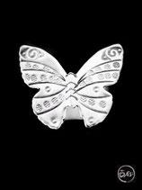 Bague en argent papillon 14
