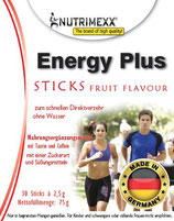 Energy Plus - 30 sticks for immediate usage (no water needed)