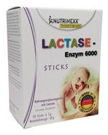 Lactase - Enzym 6000 - 30 Sticks zur Soforteinnahme