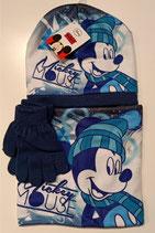 Mickey Maus Set Blau