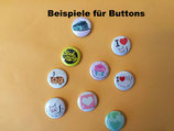 Buttons 25mm