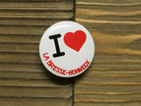 "BADGE ""I LOVE"" LA BRESSE-HOHNECK"