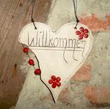 """""""Willkommen"""" Herz"""
