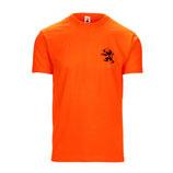 T-shirt oranje met Leeuw
